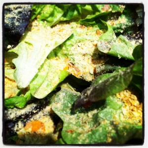 My salad!